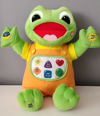 Leapfrog Baby Tad Plush Musical Interactive Toy • 1.80£