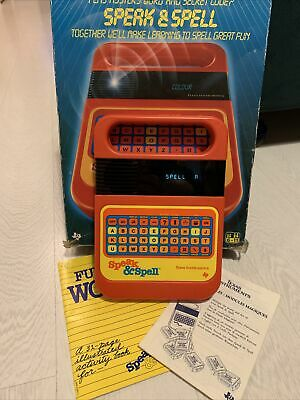 Speak And Spell Vintage Computer In Working Order Texas Instruments • 25£