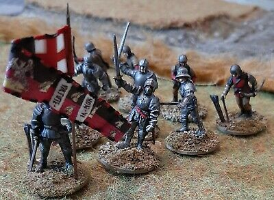 Wars Of The Roses Men At Arms And Archers X 10 28mm Perry • 35£
