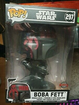 Funko Pop! Movies: Star Wars - Boba Fett (Black) 10  Vinyl Figure * New & Sealed • 30£
