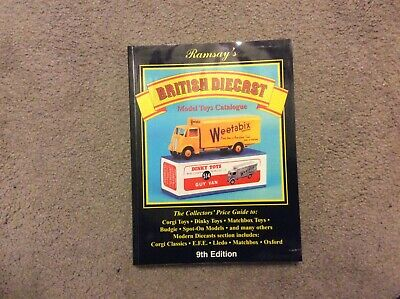 Ramsey's British Diecast Model Toys Catalogue 9th Edition. Price Guide. • 4.99£