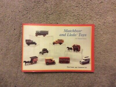 Matchbox And Lledo Toys Catalogue. Price Guide. Dr. Edward Force. • 10.99£