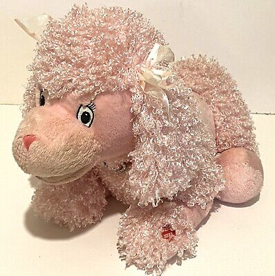 ❤️ Valentine's! Pink Poodle! Singing! - Soft! Curly! Somebody's New Best Friend! • 12.50£