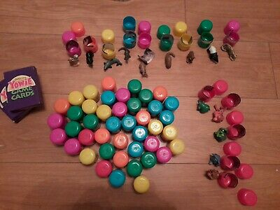 Large Job Lot Of Cadburys Yowies Toys In Eggs With Games & Pencil Topper Version • 7.99£