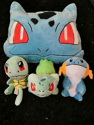 Pokemon Pillow And Plushes X3 • 10£