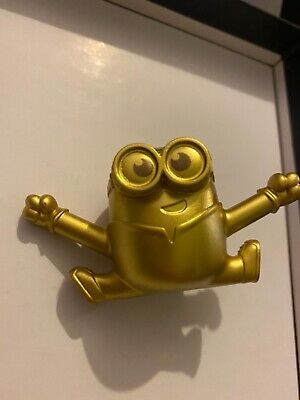 2020 Uk Mcdonalds Minion Toys. Rise Of Gru- GOLD RARE - Baby Minion • 6£