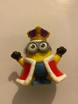 2020 Uk Mcdonalds Minion Toys. Rise Of Gru- King - Rare • 3£