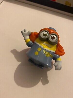 2020 Uk Mcdonalds Minion Toys. Rise Of Gru- Lady Pilot • 0.99£