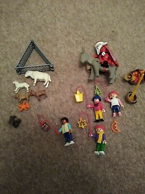 Playmobil Assorted Items Including Father Christmas, 4 Figures, Animals • 6.99£