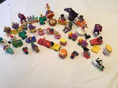 Vintage Job  Lot  Of 40 Toys From Mcdonalds Some Very Old Ones Mixed Bag • 4.99£
