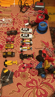 Scalextrix Transformers, Handsets And Variety Of Cars, F1, Mini, Police, Escort • 7.50£