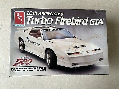 AMT ETRL 20th Anniversary Turbo Firebird GTA Indianapolis 500- Scale 1/25 • 20£