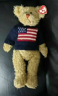 Rare Ty Attic Treasure  Ty Grant With Woolly Jumper APX 12 Inch Tall Great Gift • 9.75£