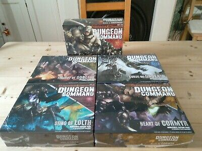 Dungeons & Dragons Dungeon Command Board & Miniature Game New Shrink 5 Packs • 102£