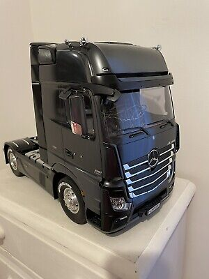 56342 TAMIYA MERCEDES-BENZ ACTROS 1851 BLACK LIMITED EDITION With MFC-03 • 550£