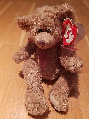 Ty Beanies Bear - Attick Treasures -  Berkley With Tag - Retired.  • 3.99£