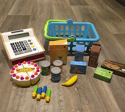 Shopping Playset And Till • 4£