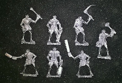Undead 7x Greater Ghouls - Sculpted By Byron.T (Dark-Art-Studios) *mint - Metal • 17.50£
