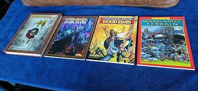 Warhammer Hard & Paperback Book Lot - Rules/Codex/Guide - Various Editions • 10£
