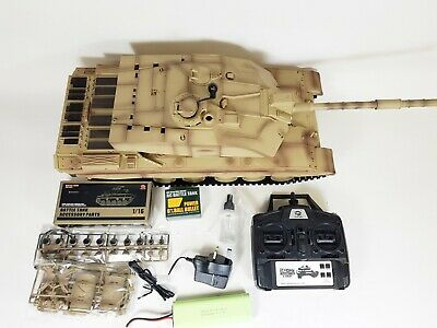 Heng Long Radio Remote Control RC Tank Challenger 2 Version 6 Infrared 2.4 BB • 170£
