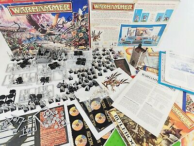 The Game Of Fantasy Battles 4th Edition, Warhammer Complete [ENG,1992] • 199.95£