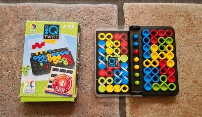 Jumbo Smart Games IQ Twist Brainteaser Game *travel*plane*train*car* • 11.50£