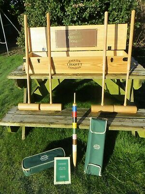 Jaques Of London Budleigh Croquet Set • 349.95£