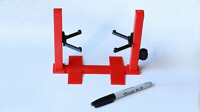 Miniature 2 Post Car Lift 1/18th Scale Adjustable Height Arms, Garage Diorama • 26.50£