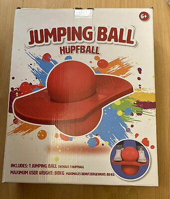 Jumping Ball / Hüffball Red New In Box 6+ Free Delivery  • 34.95£