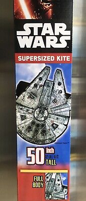 Kite Star Wars Supersized - 50 Inch Tall, Brand New In Box Sealed • 37.99£