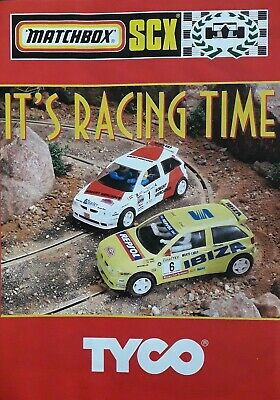 SCX Slot Car Catalogue 1996? • 4.99£