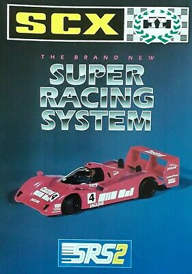 SCX SRS2 Super Racing System Catalogue • 4.99£