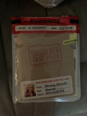 Unsolved Case Files - Harmony Ashcroft • 17£