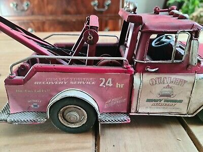 Recovery Truck Pick Up Vintage Tin Plate - Unbranded • 14.50£