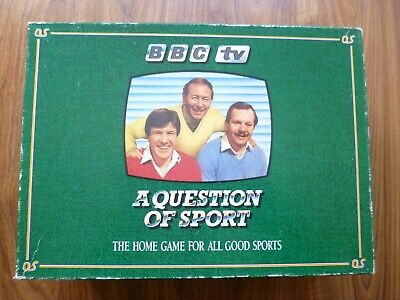 'A QUESTION OF SPORT' 1980's BBC TV QUIZ GAME • 62£