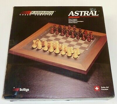 KASPAROV Astral Model 410 Electronic Chess Game Working Boxed Inc Instructions • 19.99£