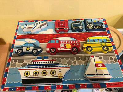 Melissa And Doug Transport Puzzle • 1£