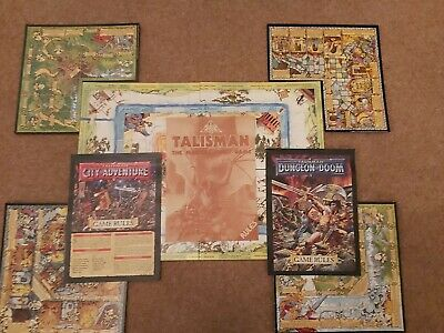Talisman &  City Of Adventure/ Dungeon Of Doom.  2nd Edition. RARE Games W/shop  • 122£