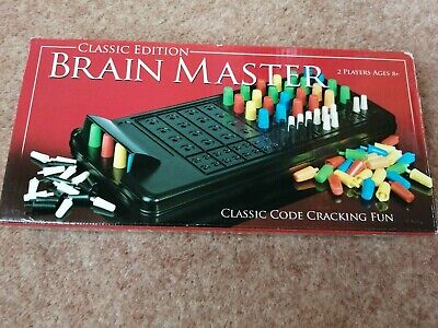 Classic Edition Brain Master Game. Ages 8+. • 1£