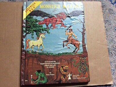 Advanced Dungeon And Dragons Monster Manual 1979 • 21£