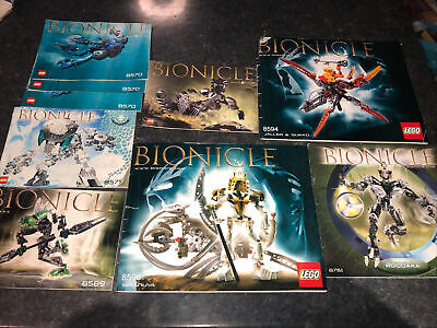 Lego Bionicles Instructions Only • 1.99£