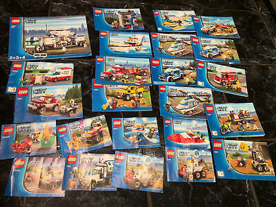 Lego City Instructions Only • 4.99£