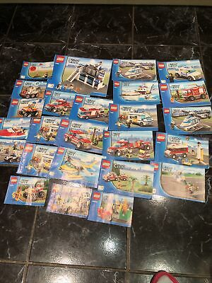 Lego City Instructions Only Lot 2 • 4.99£