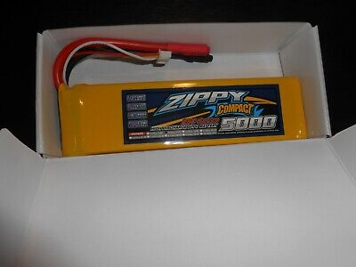 Zippy Compact 5000amh  25c Series 3 Cell 11.1v Battery New In Box • 13.50£
