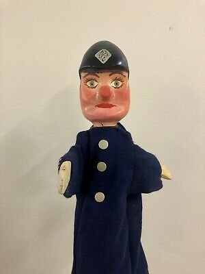 Vintage Punch And Judy Professional Puppet Policeman • 100£
