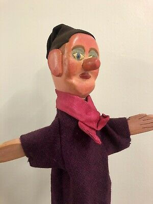 Vintage Punch And Judy Puppet Jack Ketch The Hangman • 100£