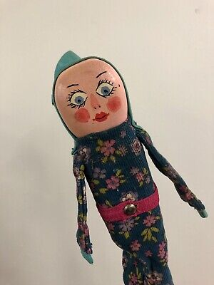 Vintage Punch And Judy Baby Puppet • 25£