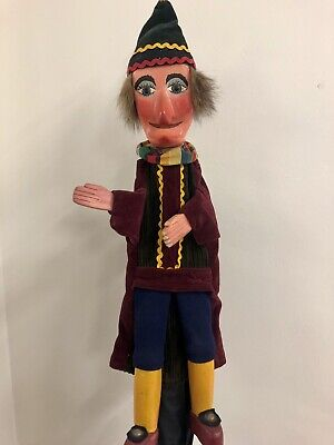Vintage Mr Punch And Judy Professional Puppet • 150£
