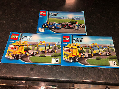 Lego City 60060 Instructions Only • 4.99£