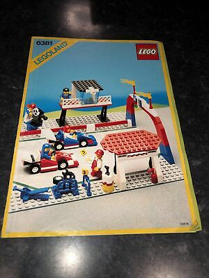 Lego Vintage 6381 Instructions Only • 2.99£
